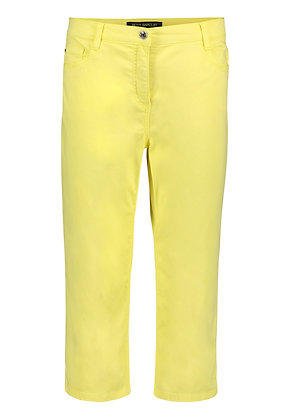 Betty Barclay Cropped Pants - Yellow