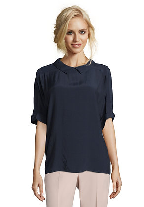 Betty Barclay Short Sleeve Collared Blouse