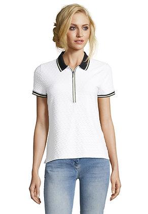 Betty Barclay Black/White Polo Shirt