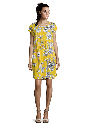 Betty Barclay Yellow Floral Dress
