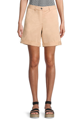 Betty Barclay Cuffed Shorts - Candied Ginger