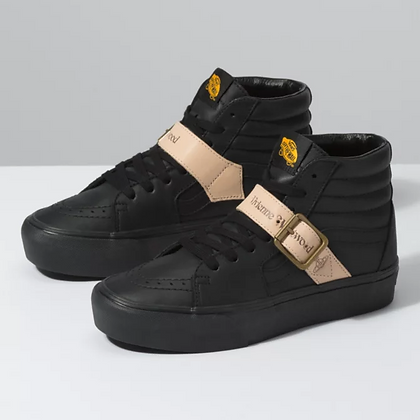 Vans X Vivienne Westwood SK8-Hi Shoes - Black/Tan