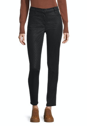 Betty Barcly Embossed Slim Trousers