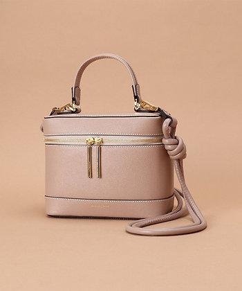 Samantha Thavasa Nadia Vanity Bag - Pink Beige