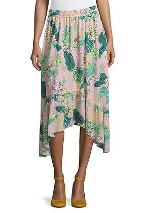 Betty Barclay Printed Asymmetrical Skirt