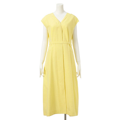 Taro Horiuchi French Sleeve Flare Dress