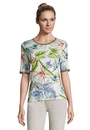 Betty Barclay Floral Print Tee