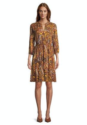 Betty Barclay Printed Puff Sleeve Dress
