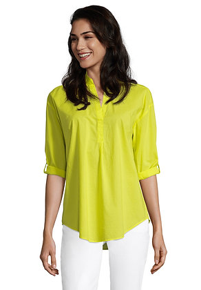 Betty Barclay Loose Shirt - Neon Yellow
