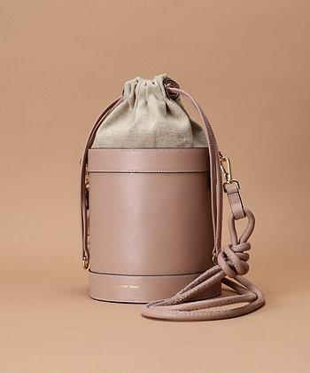 Samantha Thavasa Nadia Bucket Bag - Pink Beige