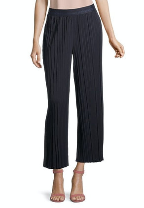 Betty Barclay Cropped Pleated Pants - Dark Sky