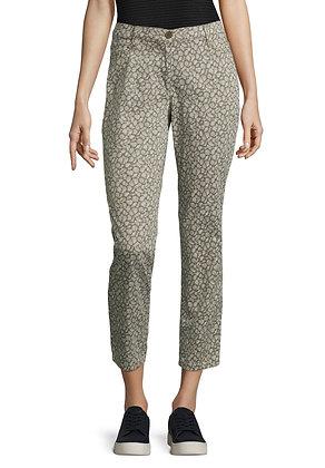 Betty Barclay Slim Pants - Olive Print