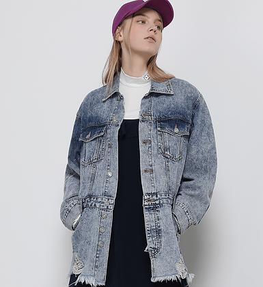 SJYP Oversized Denim Jacket
