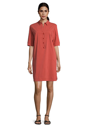 Betty Barclay Polo Shirt Dress - Rust