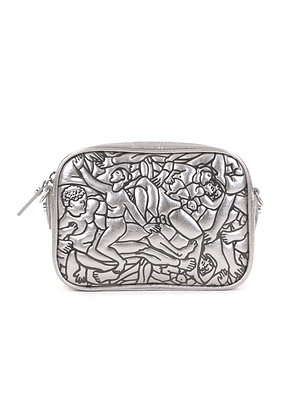 Vivienne Westwood Anna Metallic Camera Bag - Silver