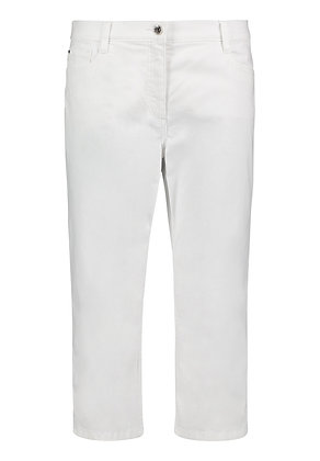 Betty Barclay Cropped Pants - White