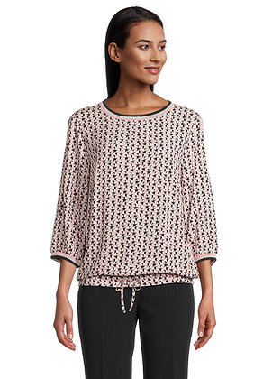 Betty Barclay Contrast Printed Blouse