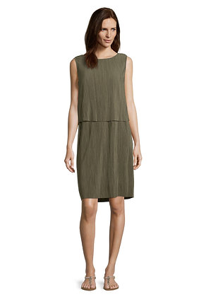 Betty Barclay Layered Shift Dress - Olive