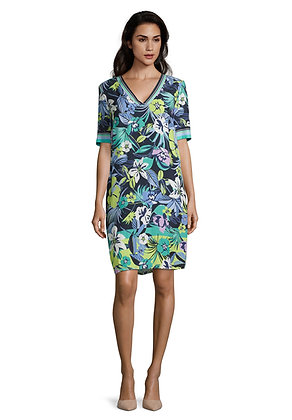 Betty Barclay Short Sleeve Printed Dress
