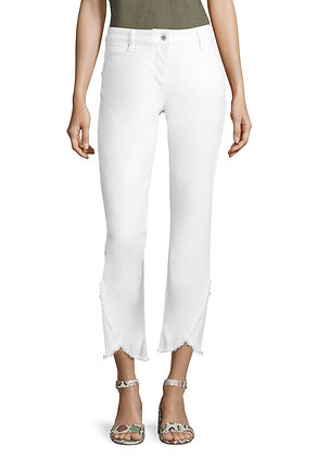 Betty Barclay Slim Trousers - White