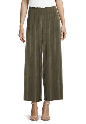 Betty Barclay Pleated Loose Pants - Olive
