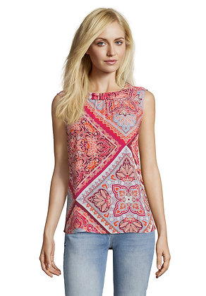 Betty Barclay Printed Sleeveless Blouse