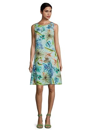 Betty Barclay Printed Shift Dress - Blue