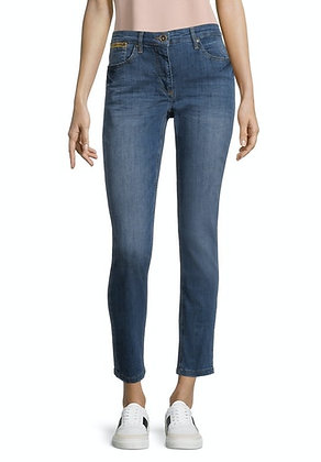 Betty Barclay Slim Jeans With Embellished Pockets