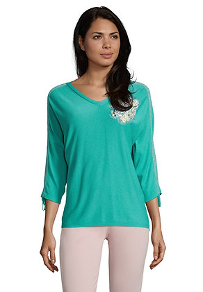 Betty Barclay Embellished Knit Blouse