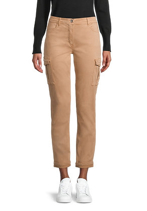 Betty Barclay Cargo Pants - Camel