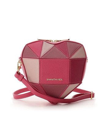 Samantha Vega Chocolate Heart Bag - Pink