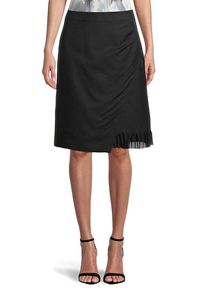 Betty Barclay Ruched Skirt - Black