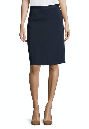 Betty Barclay Mid Length Skirt - Navy