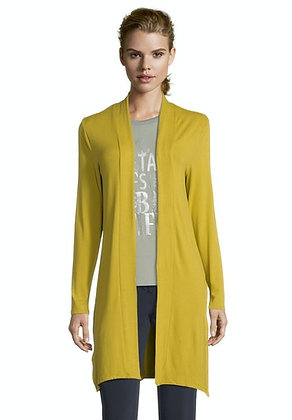 Betty Barclay Longline Cardigan - Golden Olive