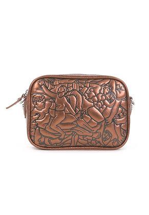 Vivienne Westwood Anna Metallic Camera Bag - Copper