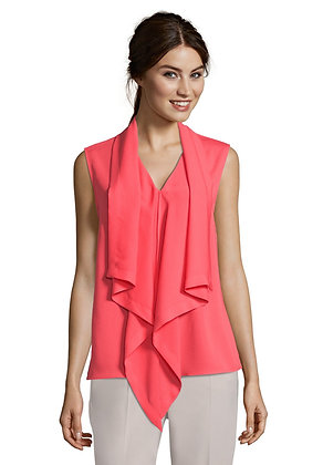 Betty Barclay Drape Sleeveless Blouse