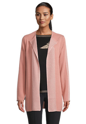 Betty Barclay Knit Jacket - Ash Rose
