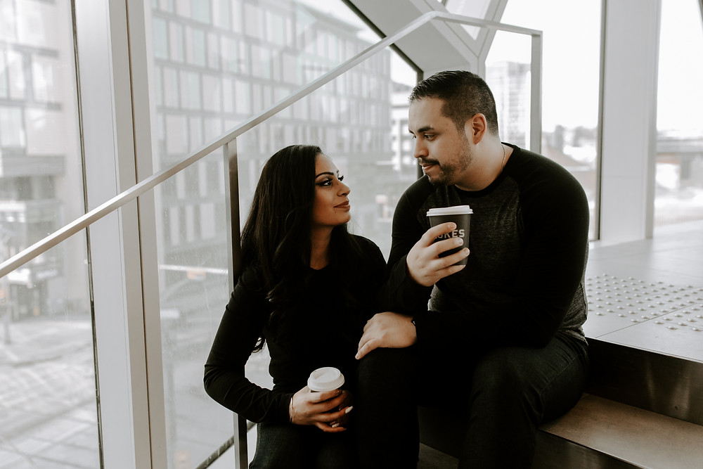 new central library engagement session lukes drug mart coffee