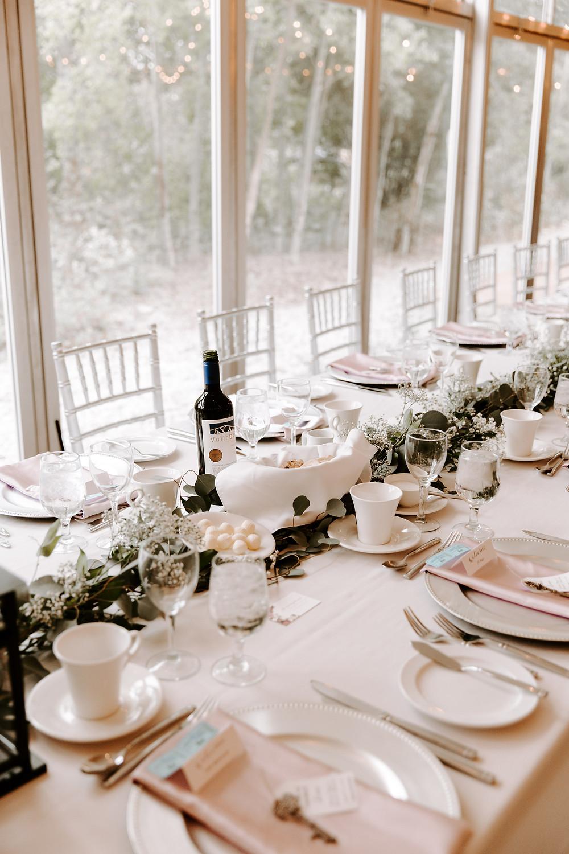 Meadow Muse wedding reception decor
