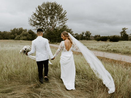 Stunning Vintage Inspired Meadow Muse Wedding