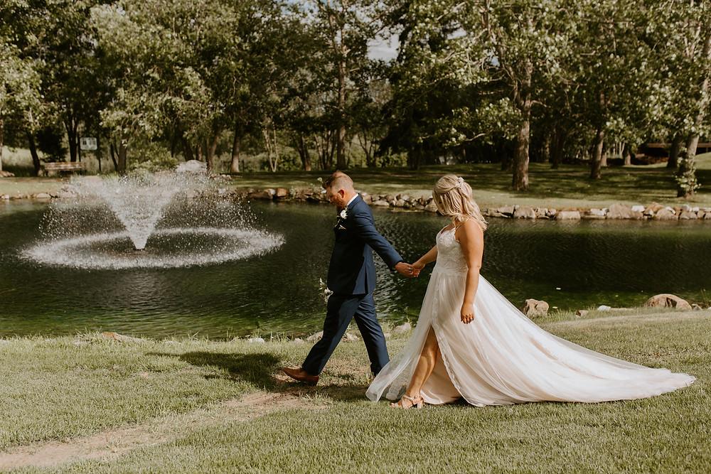 Sylvan Lake Hilltop Wedding Center couple