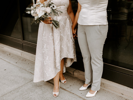 Intimate Calgary Wedding at The Commons