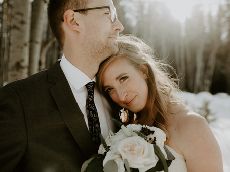 Intimate Water Valley Wedding