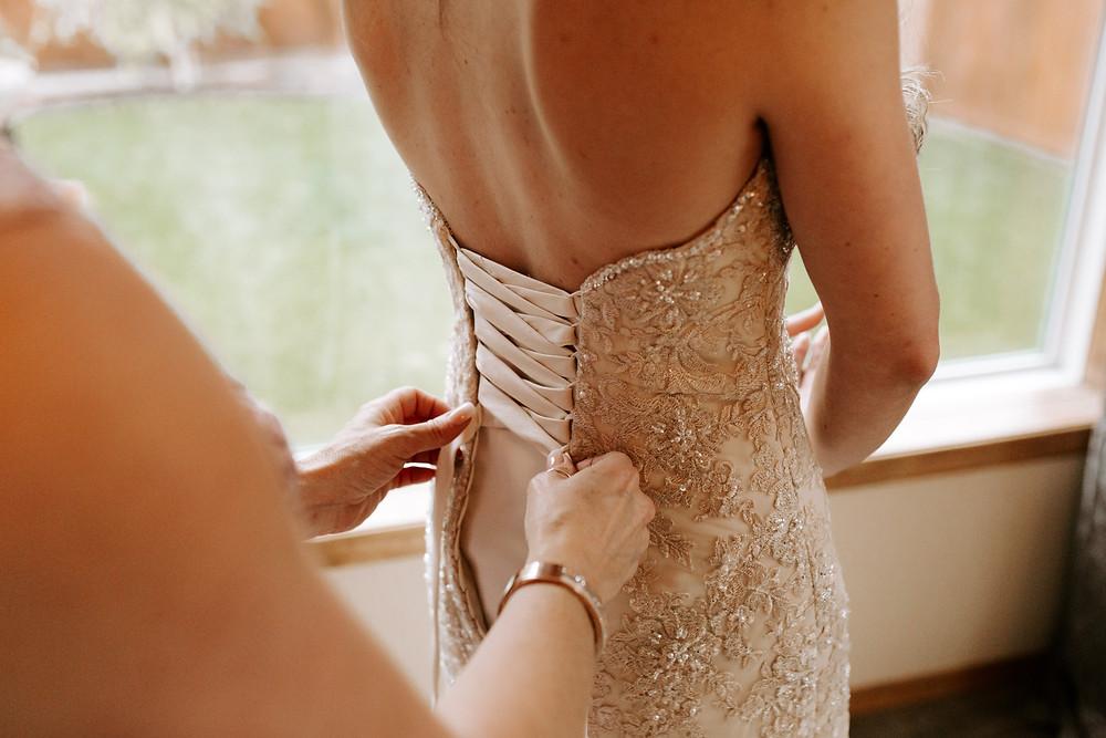 calgary bride wedding dress