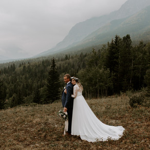 Moody Pomeroy Kananaskis Mountain Lodge Wedding