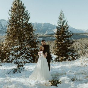 Fairmont Banff Springs Elopement | Banff Wedding Photographer & Videographer