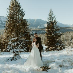 Fairmont Banff Springs Elopement | Banff Wedding Photographer & Videographer