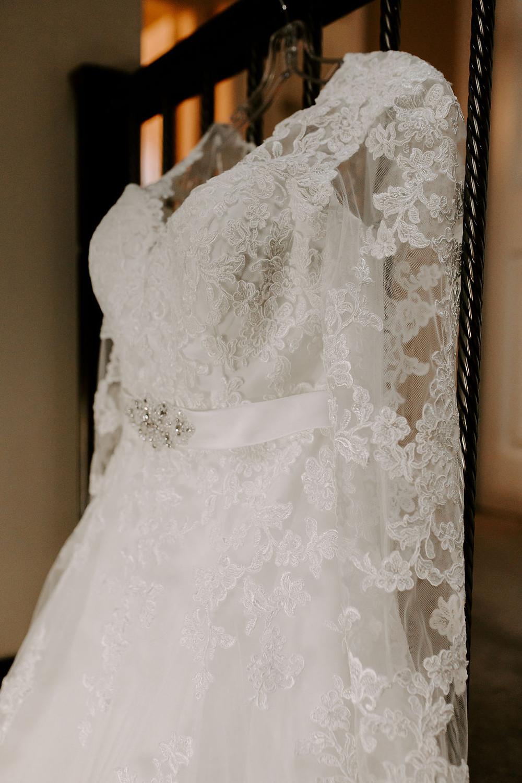 wedding dress port kells church wedding