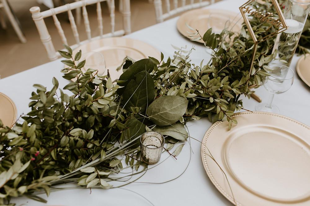 Sylvan Lake Hilltop Wedding Center reception