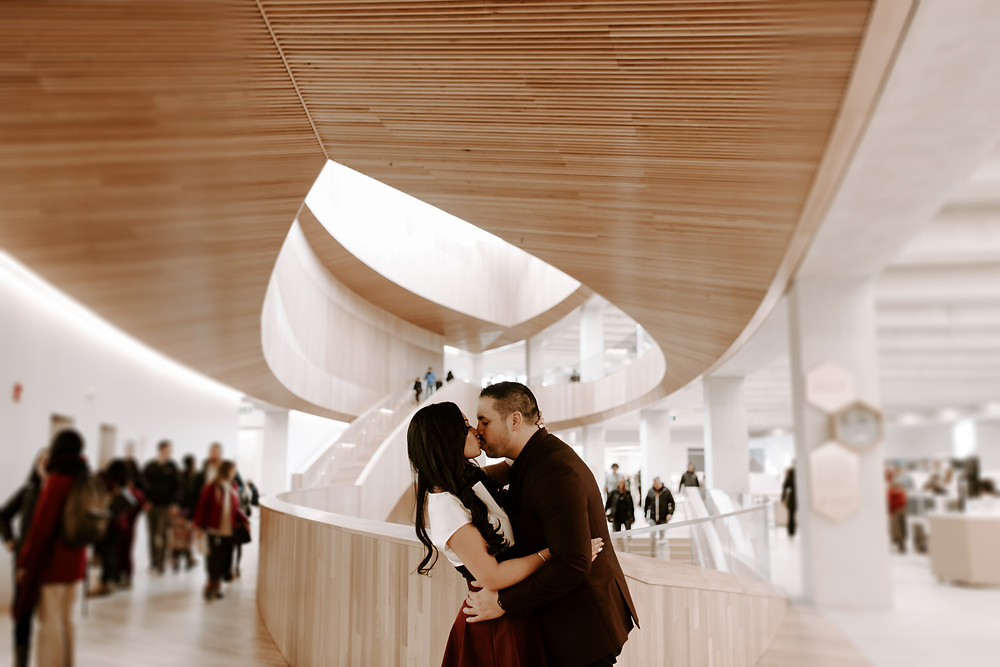 calgary central library engagement session